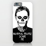 Normal People Scare Me -… iPhone 6 Slim Case