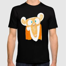 Monkey Black SMALL Mens Fitted Tee