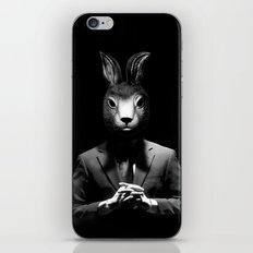 Rabbit Man iPhone & iPod Skin