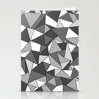 Ab Collide Grey Stationery Cards