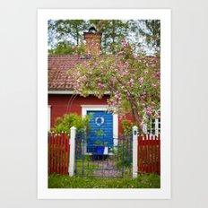 The Cottage. Art Print