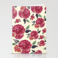 Antique Floral Stationery Cards