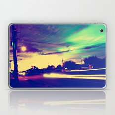 Running Red Lights Laptop & iPad Skin