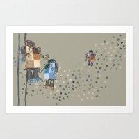 Art Print featuring Robotics 2 by Laura Cartwright