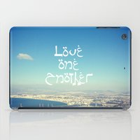 Love One Another iPad Case
