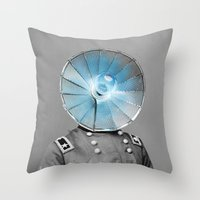 Electric General Throw Pillow