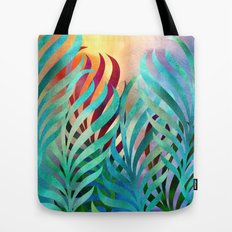 Tropical Palms Tote Bag