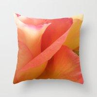 Two-Tone Roses #6 Throw Pillow