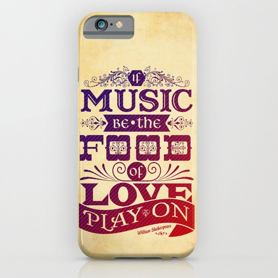 Food of Love  iPhone & iPod Case