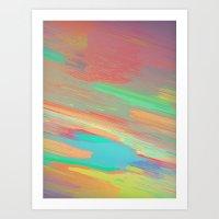 Burn 3 Art Print