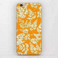Spring Orange iPhone & iPod Skin