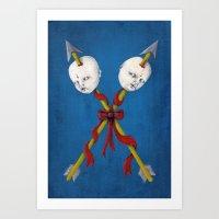 Las Jaras Art Print