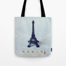 A Word about Paris  Tote Bag