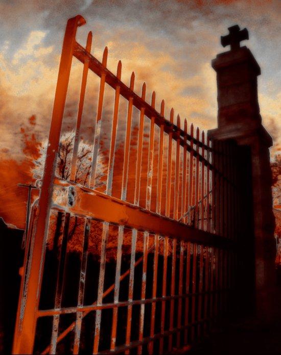 Close The Gate Art Print