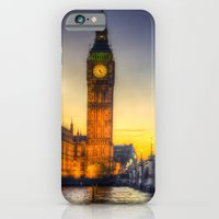 iPhone & iPod Case featuring Westminster London by David Pyatt