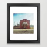 Soul Saving - Detroit, MI Framed Art Print