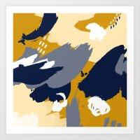 Eve; Abstract Art. Art Print