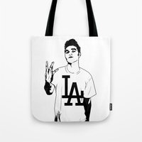 Panic On The Streets Of … Tote Bag