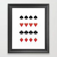Suits Framed Art Print