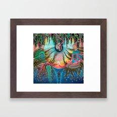 Holding Space Framed Art Print