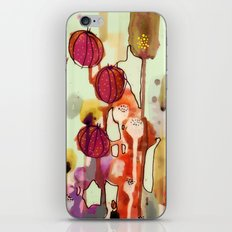 wild things iPhone & iPod Skin