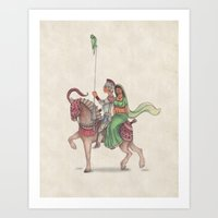 Indian Knight Art Print
