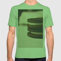 oreos Mens Fitted Tee Grass SMALL