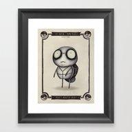 #007 Squirtle Framed Art Print