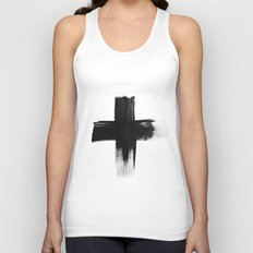 Cross Unisex Tank Top