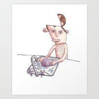 Brain Washing Art Print