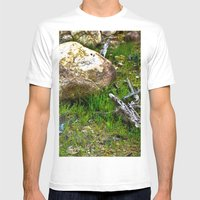 The Amazon Rock - Amazon… Mens Fitted Tee White SMALL