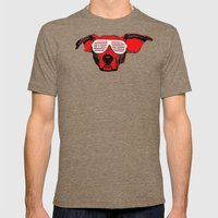 THE BUDDIE x DOUCHEBAG* Mens Fitted Tee Tri-Coffee SMALL