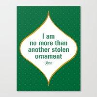 I Am No More Than Anothe… Canvas Print