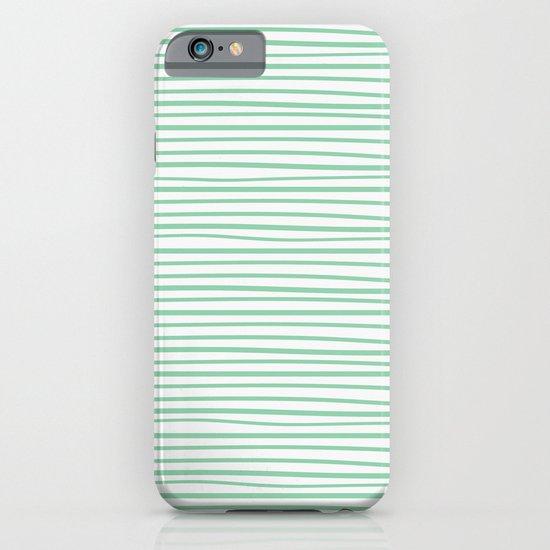 Sailor Tee - Mint iPhone & iPod Case