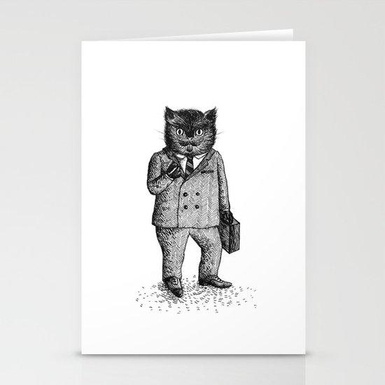 Cat - Boy Stationery Card