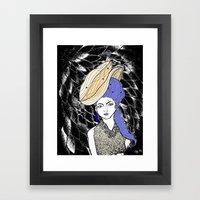 Hats Framed Art Print