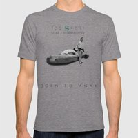 Too Short......to Be A S… Mens Fitted Tee Tri-Grey SMALL