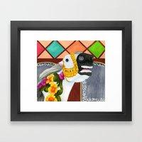 Carousel Horse - Sadie Framed Art Print