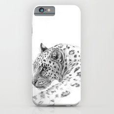 Leopard - Glance back iPhone 6s Slim Case