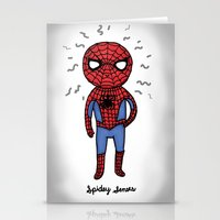 Super Cute Heroes: Spide… Stationery Cards