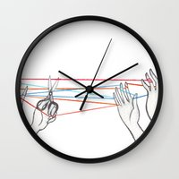 String Games Wall Clock
