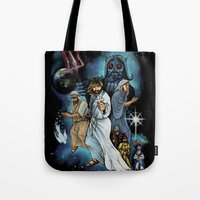 Jesus Christ Super StarWars Tote Bag
