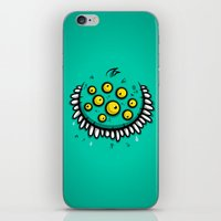 FUNNY EYEBALLS iPhone & iPod Skin