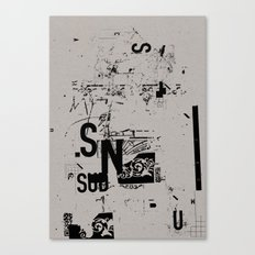 spotless 2 Canvas Print