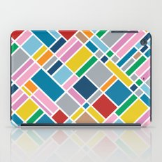 Map Outline 45  iPad Case