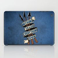 Nothing To Lose iPad Case