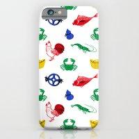 Fish prawn crab iPhone 6 Slim Case