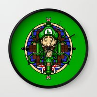 Luigi's Lament Wall Clock