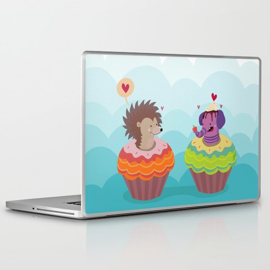 Sweet love Laptop & iPad Skin