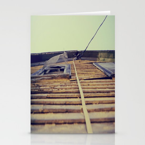 Look Up Stationery Card